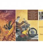 Invitation à l'exposition de la Toussaint de Pat Thiébaut