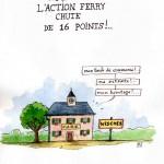 Krach Ferry dans la 6e...